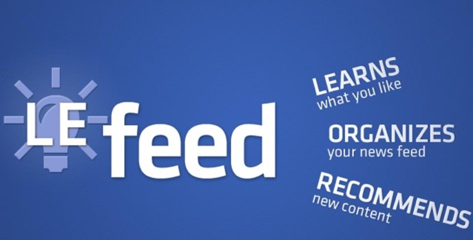 Facebookを見るヒマがない!なら、ニュースフィードから話題をリコメンドしてくれる「LeFeed」