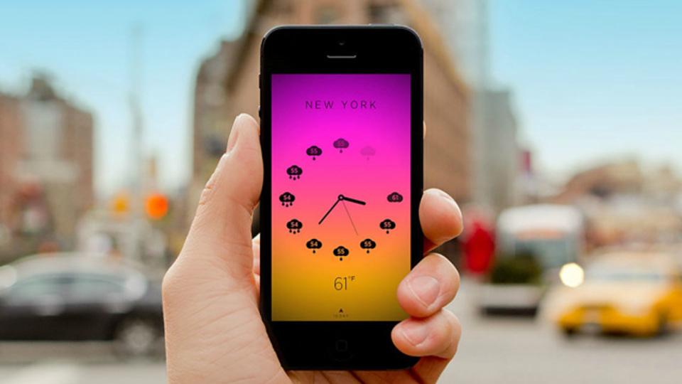 「美しくて何度も見たくなる」時計&天気アプリ『Climate Clock』
