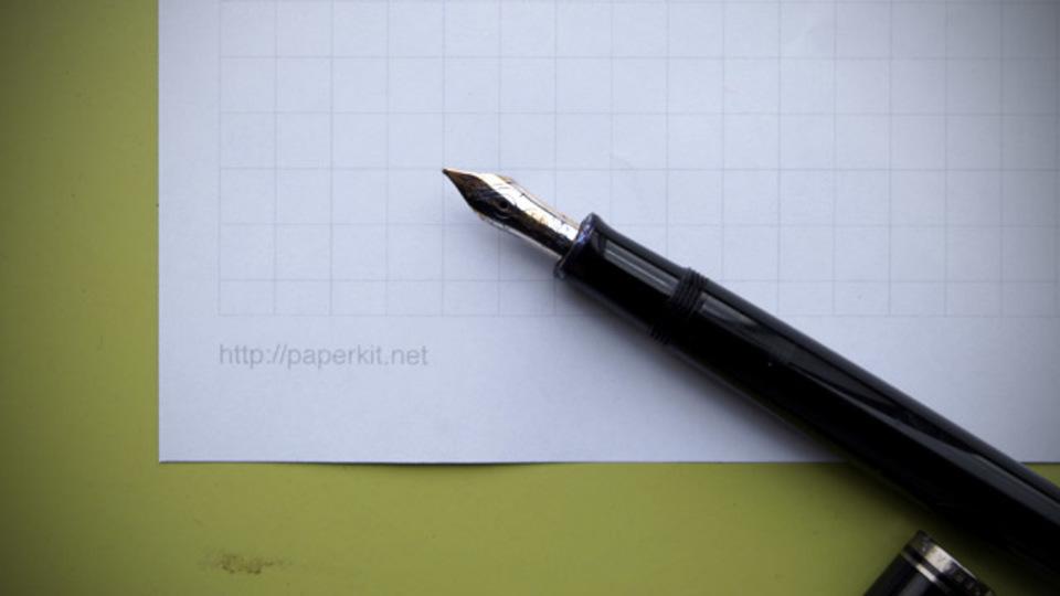 方眼紙を自由に作ってPDF化&ダウンロードできるサイト「Paperkit」