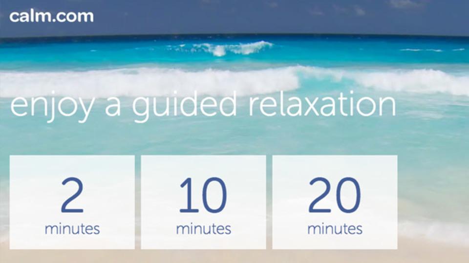 瞑想ビギナーにオススメのガイドアプリ「Calm.com」