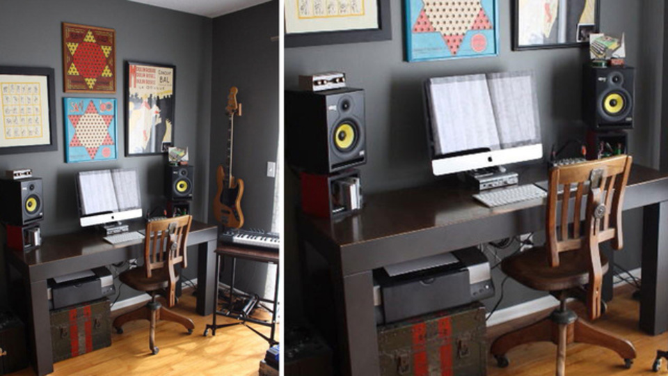 限りあるスペースをシンプルに! 物持ちが参考にしたいミニマルな音楽制作スペース