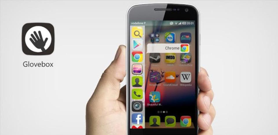 Ubuntu Phoneの「指一本でスルスル」の操作感覚! Androidランチャー『Glovebox』