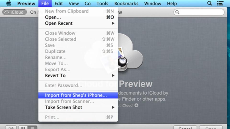 Macの「プレビュー」はスマートフォンで撮影した写真を簡単に読み込みたい時に使える