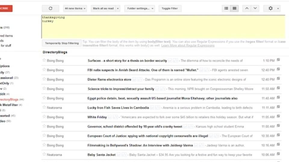 Googleリーダー終了前にもう一度読みたい記事を探しやすくするスクリプト