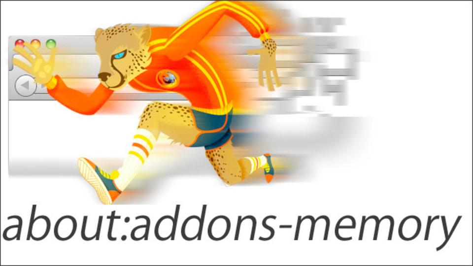 Firefoxにインストールしているアドオンのメモリ消費率がひと目でわかるアドオン「about:addons-memory」