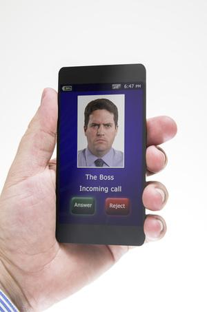 ボスからの電話