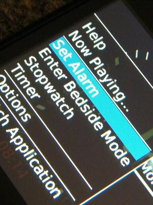携帯の設定で自分の時間を作り出す