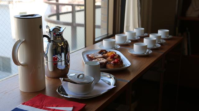 アイスランド大使館でお茶会