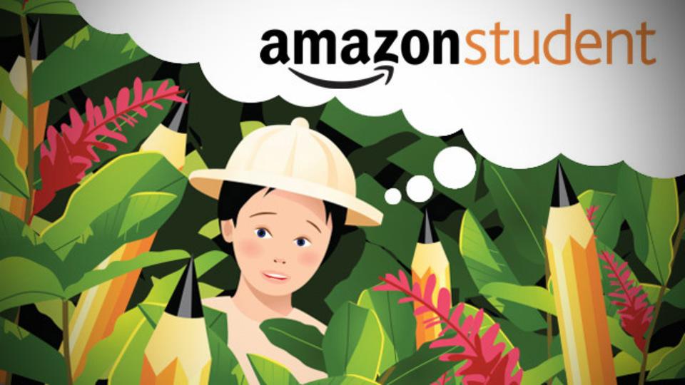 学生注目! Amazon Student会員、期間限定でポイント15%還元中(〜4月30日)