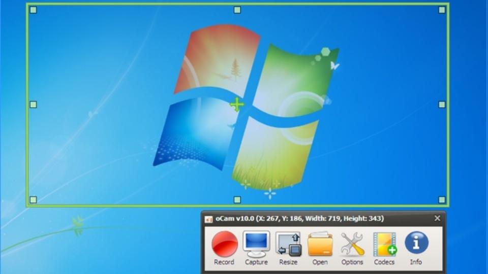 Windowsで範囲指定してスクリーンショット(動画も!)を保存できる『oCam』