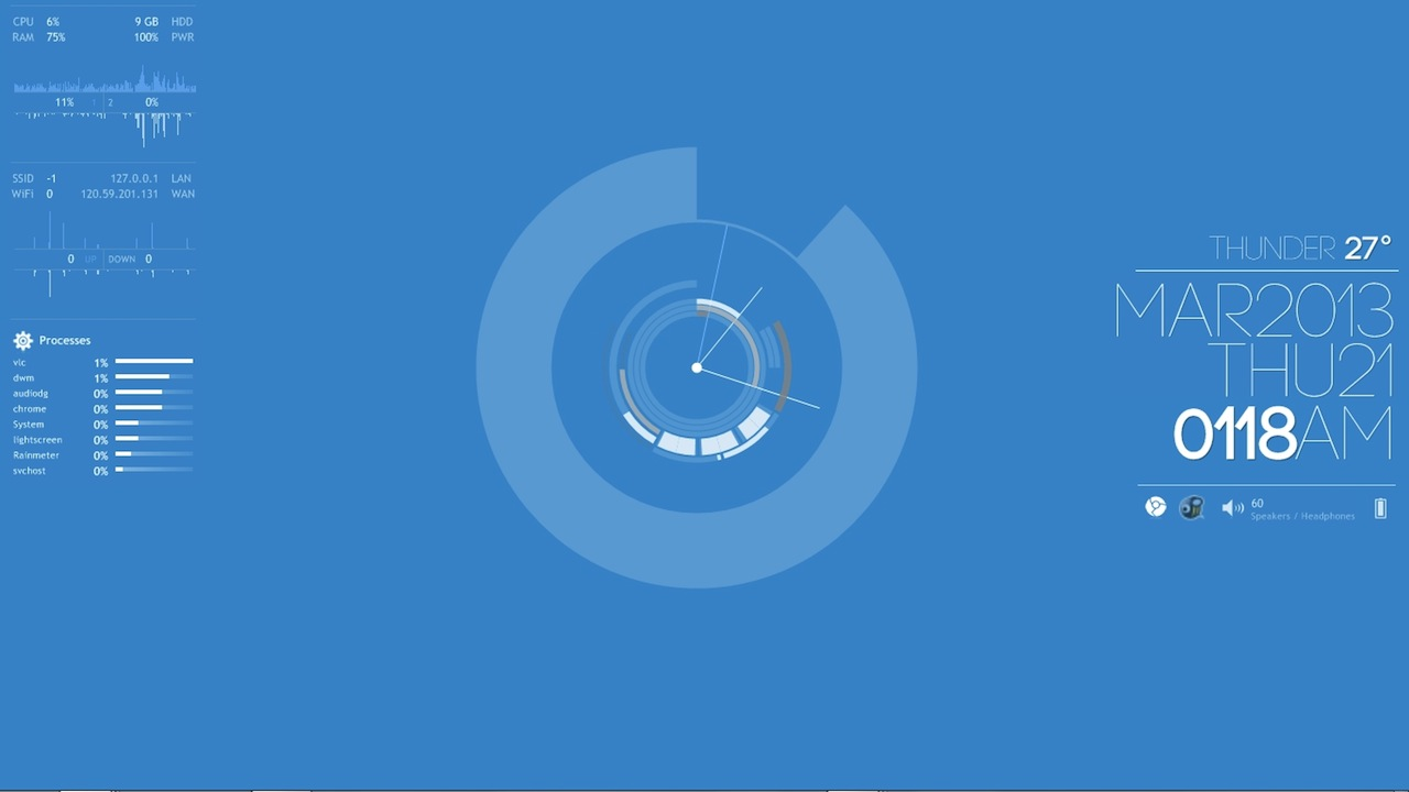 クリーンブルーデスクトップ 究極のデスクトップを求めて ライフハッカー 日本版