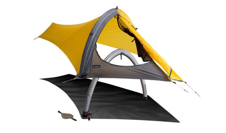iPadと同じ重さ! キャンプが捗る1人用テント「GOGO Elite Tent」