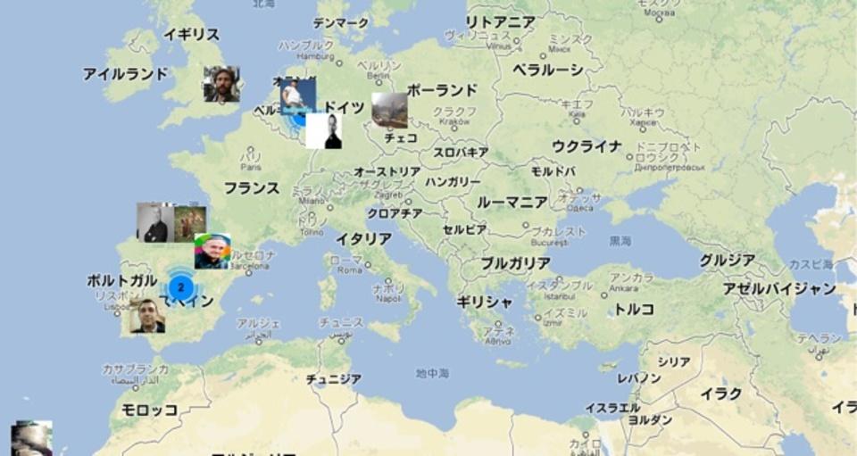 地図から世界中のプロフィールを検索できるサービス「AboutMeMap」