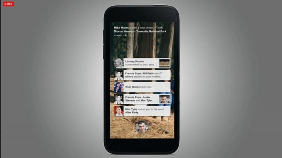 FacebookがAndroid向けに『Facebook Home』を発表! 対応端末には既存機種も!