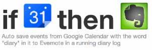 Googleカレンダーの予定をEvernoteに保存する