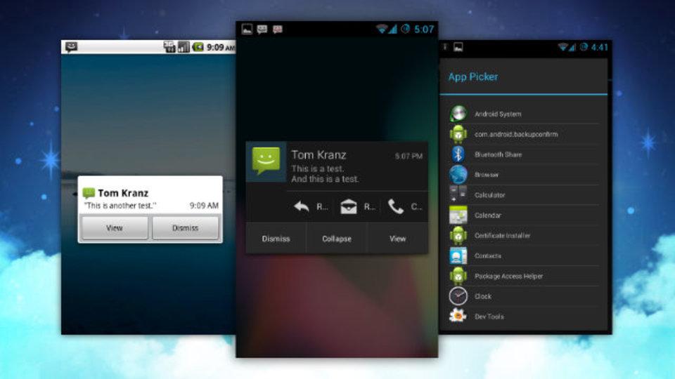 Androidロック画面にiPhoneのようなポップアップ通知をさせるアプリ『Notify Me』