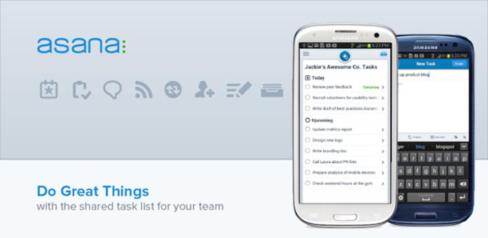 プロジェクト管理に! 効率的なグループワークを実現するアプリ『アサナ・モバイル』