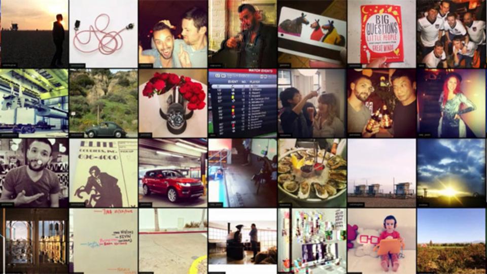Instagramの画像をタイル表示してくれるスクリーンセーバーアプリ『Screenstagram』