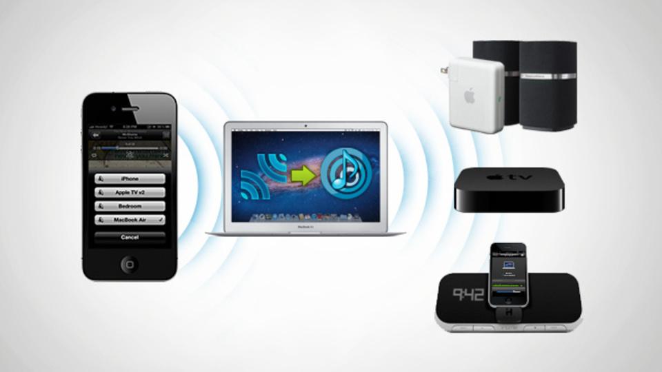 iOSデバイスの音声を複数のAirPlay対応スピーカーでストリーム再生する方法
