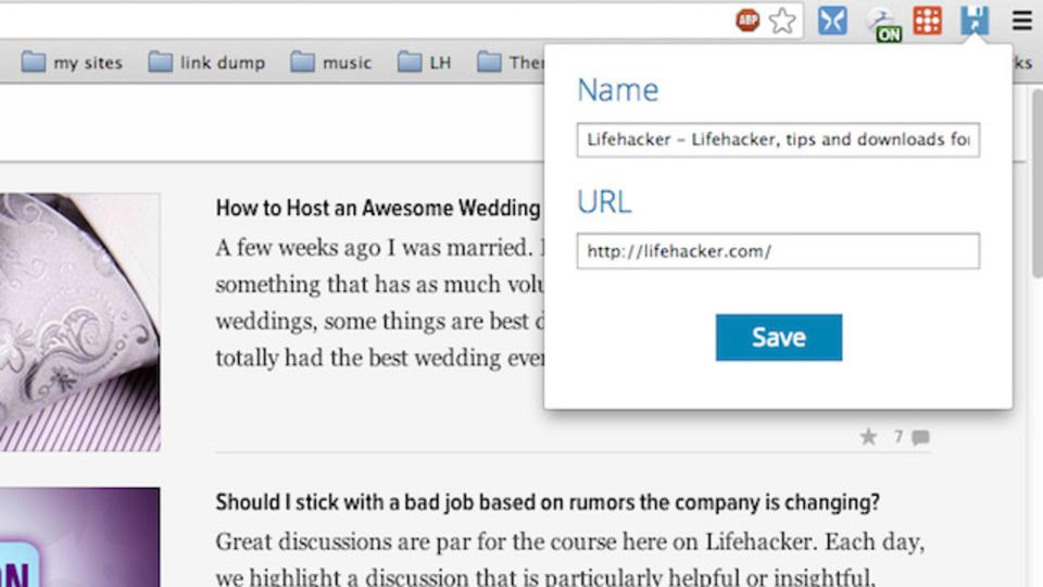 「このサイト見といて」に使える! URLへのショートカットを保存できるChrome拡張機能