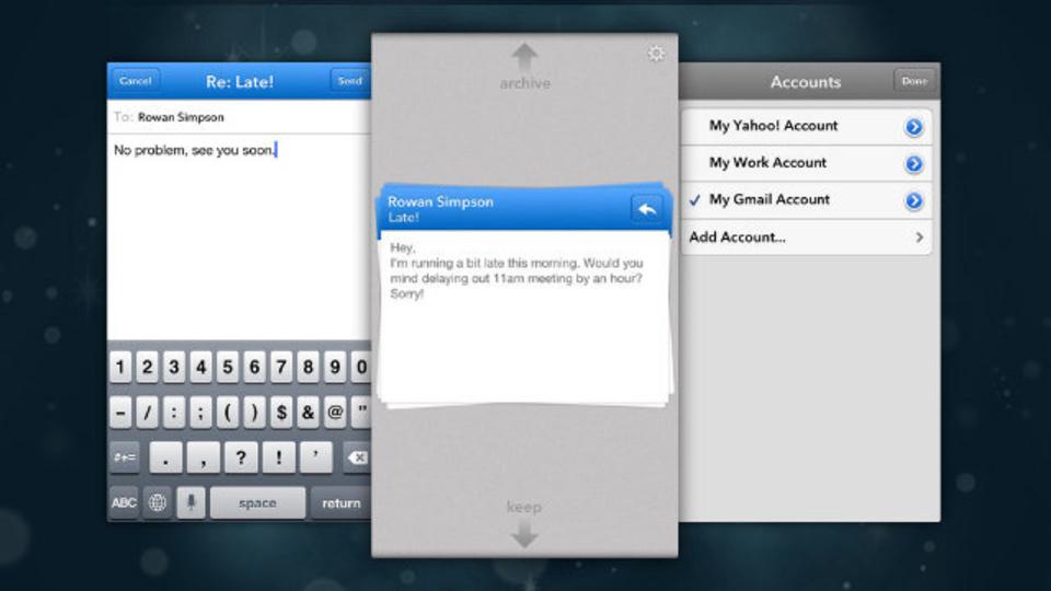 外出先でのメール整理が捗るiPhone用メールアプリ、見つけた