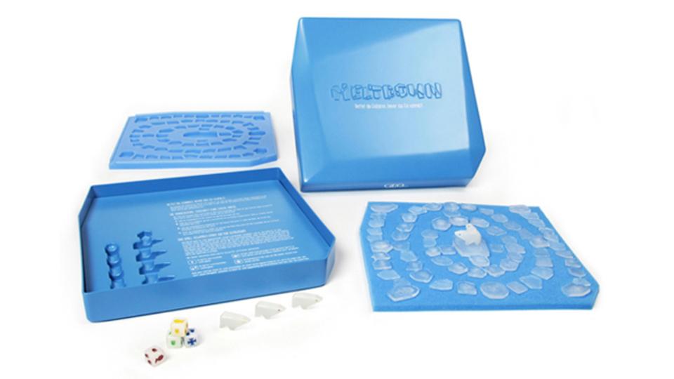 本物の氷で遊ぶボードゲーム「Melt Down」に隠されたメッセージ