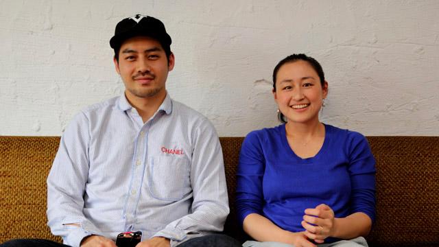 大矢さん(左)と、小柴さん(右)