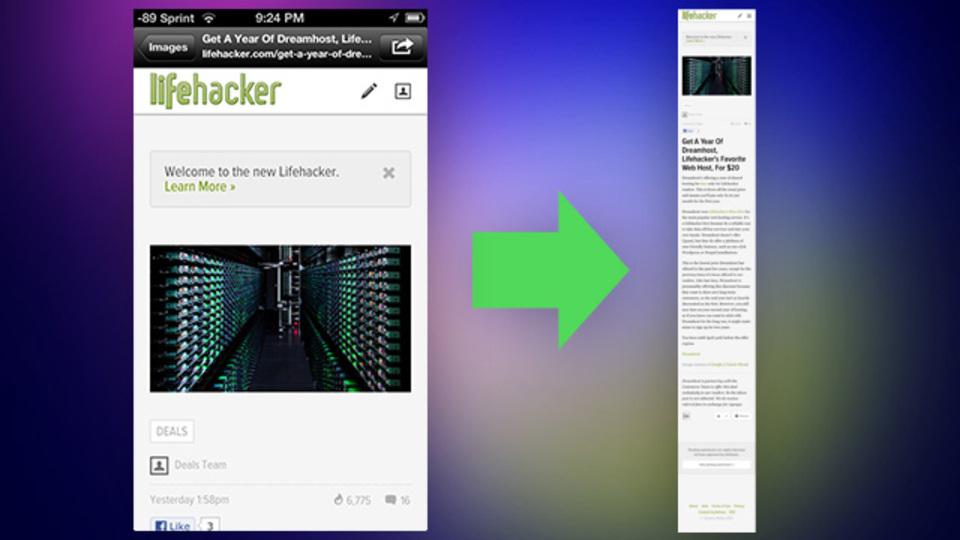 iPhone/iPadでウェブページのフルスクリーンショットを撮影できるアプリ『Barry』