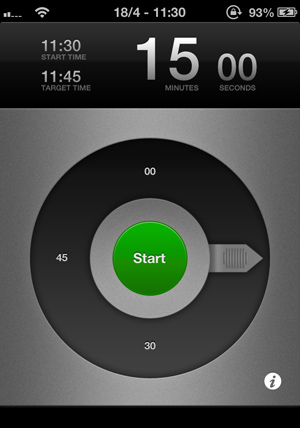 Pronto Timer App