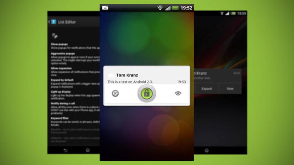 メールの見逃し防止に。Android OSの通知システムを便利にする『Notify Me!』