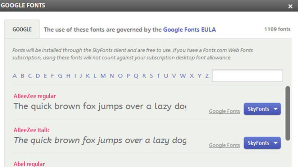 ページ読み込みが早まることもある! Googleフォントをダウンロードしてみよう