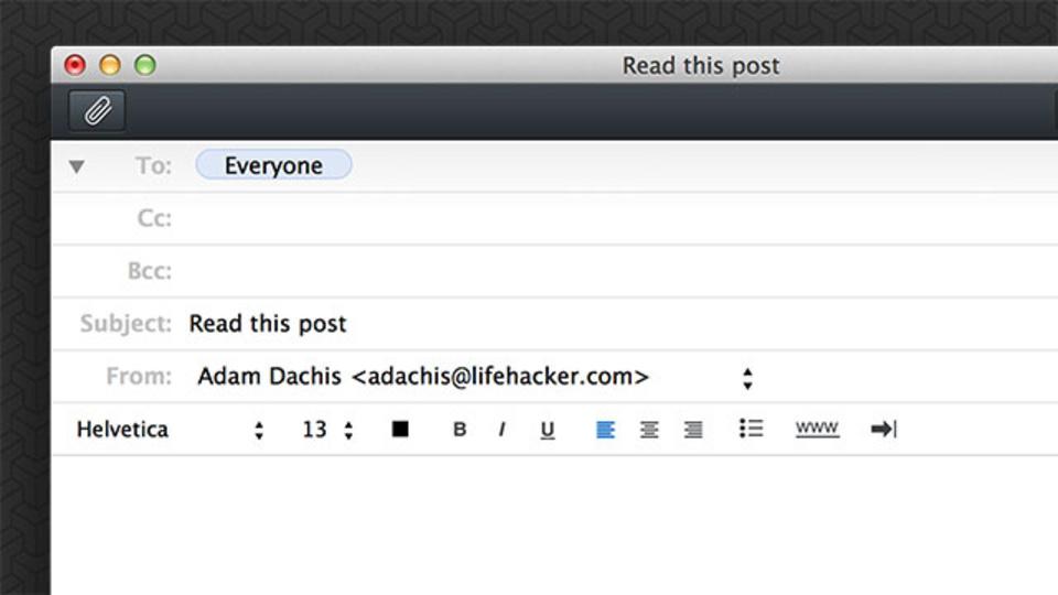 メールで何かを頼む時は、件名にやって欲しいことを簡潔に入れる