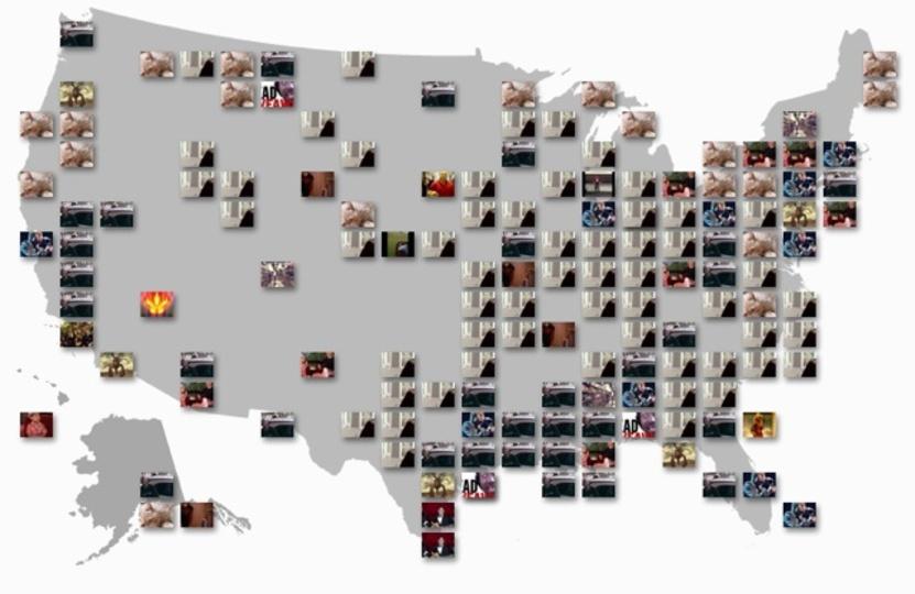 今、特定の都市でアツい動画を探せる地図「YouTube Trends Map」