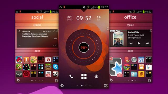AndroidでUbuntuなホーム画面~究極のホーム画面を求めて