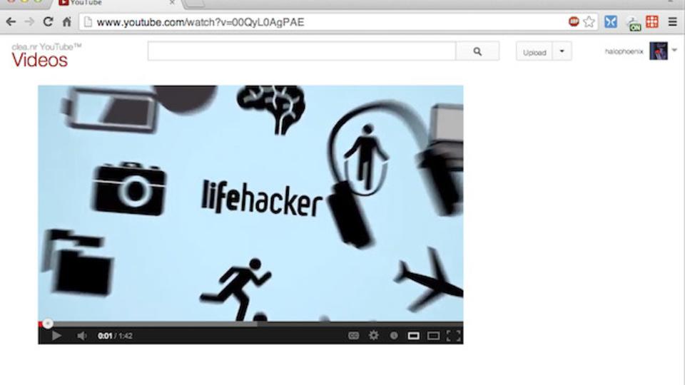 YouTubeの動画だけを表示する拡張機能で誘惑から逃れよう