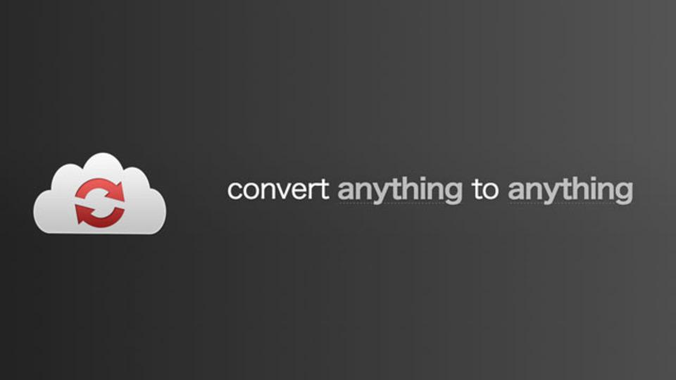 Dropboxなどクラウド上でファイル形式を変換できるサービス「CloudConvert」