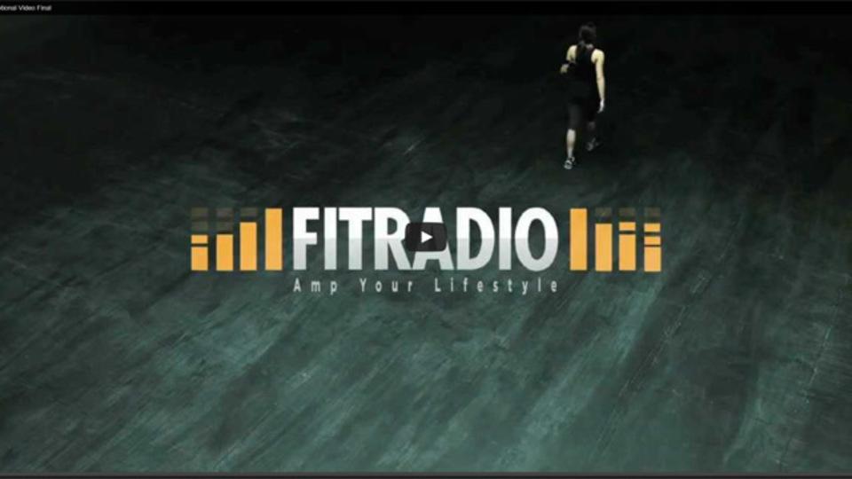 運動する人のための音楽ストリーミングアプリ『FitRadio』