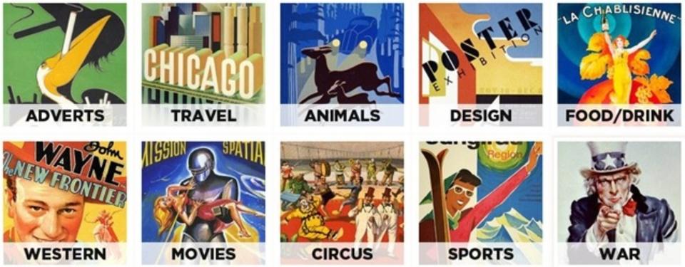 印刷もOK!ヴィンテージ・ポスターを無料ダウンロードできるサイト「Free Vintage Printable Posters」
