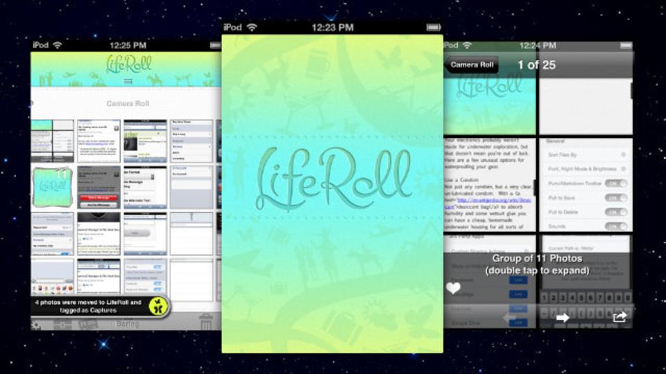 iPhoneのカメラロールを整理し、昔の写真でも見つけやすくしてくれる『LifeRoll』