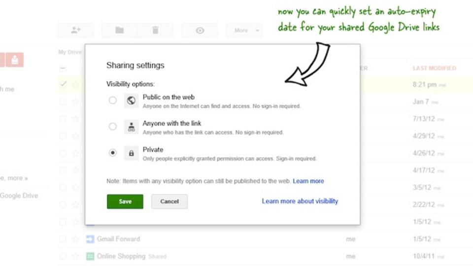 スクリプトを使ってGoogleドライブの共有フォルダに有効期限を設定する方法