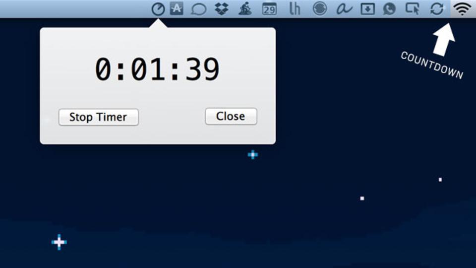 残り時間がわかりやすい! Macのメニューバーをタイマーとして使う『Timebar』