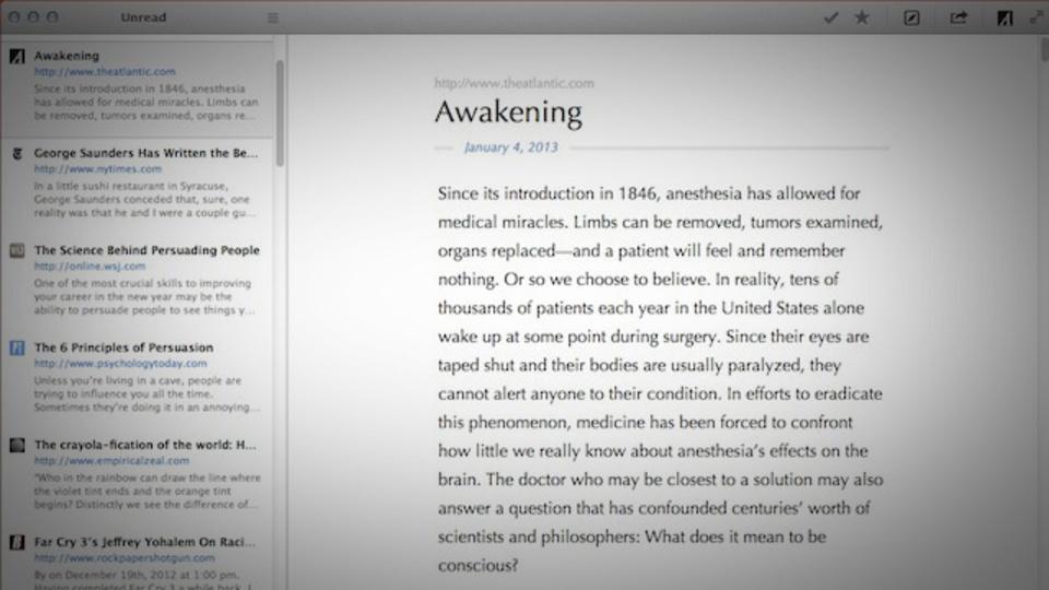RSSと併せて盤石! 後で読む系サービスをすべて統合できるアプリ『ReadKit』
