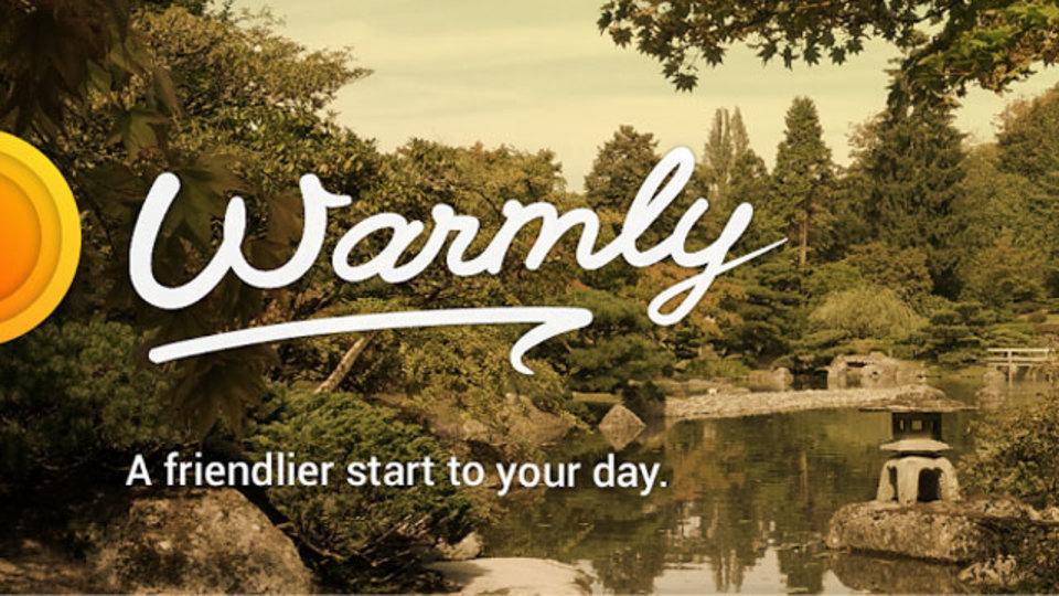 「誰かが朝ごはんを作ってくれている」など、心地良い音を奏でる目覚ましアプリ『Warmly』