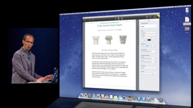 ウェブアプリ版「iWork」登場、OS・ブラウザを問わずオフィスファイルが編集可能に