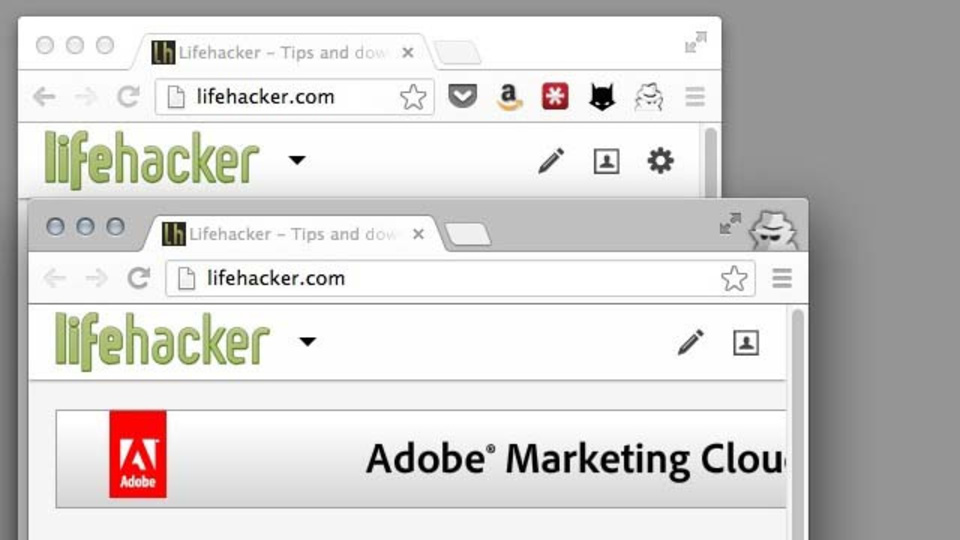 履歴でバレて怒られる前に...Chromeタブを瞬時にシークレットモードに切り替えられる拡張機能