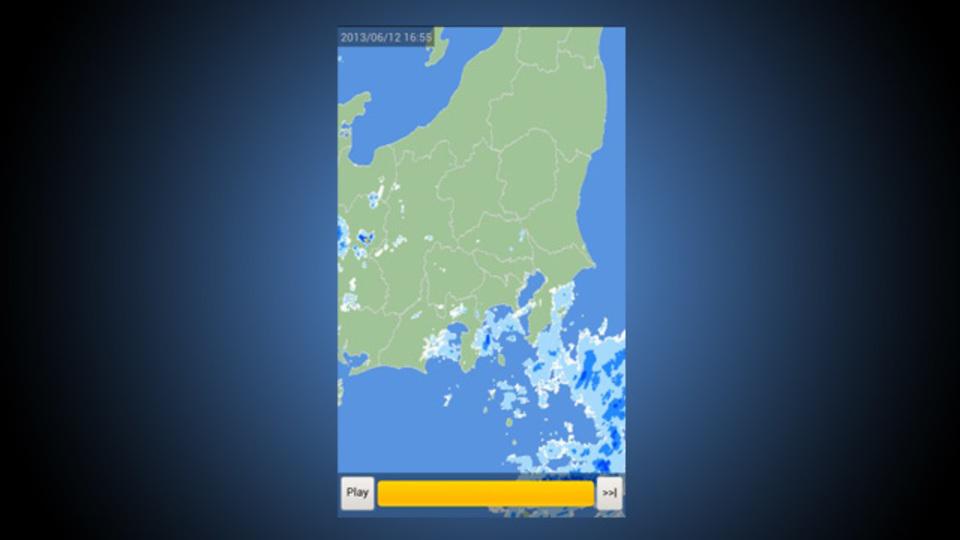 シンプルだから誰でもわかる。予報より頼れそうなアプリ『日本のお天気レーダー』