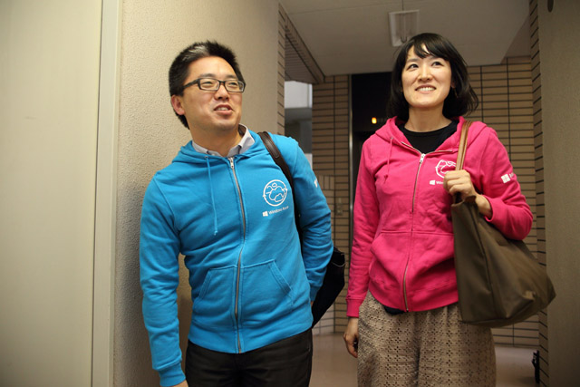 Microsoftのテクニカルエバンジェリスト武田正樹さんと、同社でオーディエンスマーケティングマネージャーを務める松近美奈さん