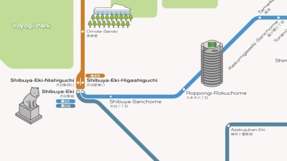 都営バスがついに深夜運行、運賃は400円(2013年12月~)