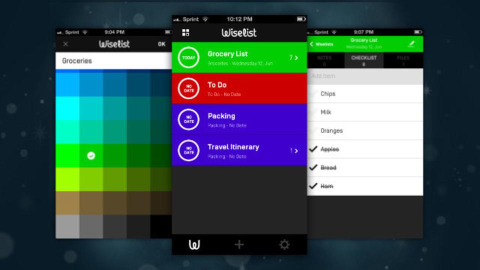 スタイリッシュなユーザーインターフェースと独特な機能を兼ね備えたタスク管理アプリ『Wiselist』