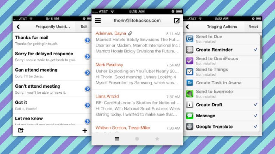 ハブの役割になる! 他のアプリとの連携に優れたメールクライアント『Dispatch』